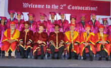 Convocation Ceremony at Ecole