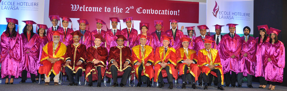 Convocation Ceremony At Ecole Hoteliere Lavasa